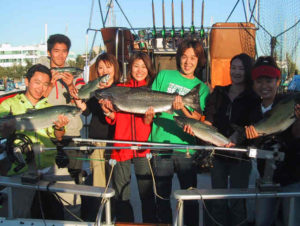 Salmon Fishing Tour